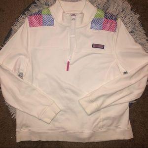 Vineyard Vines Shoulder Shep Sweater Shirt